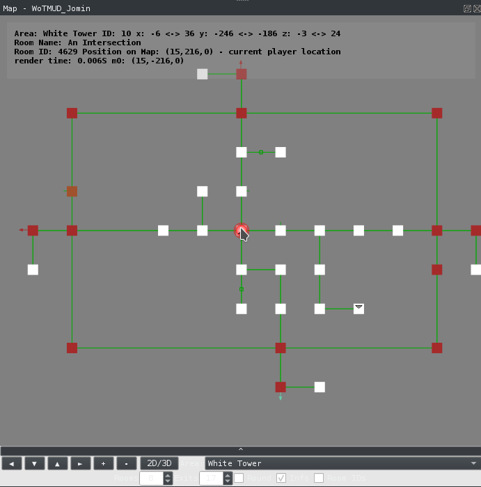 Image of 2D mapper with no room selected